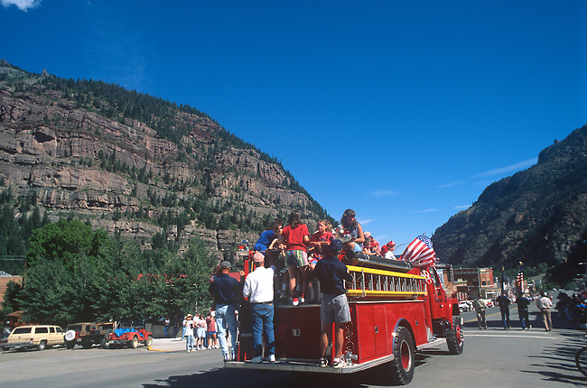 Parade, July 4th, Ouray, Colorado