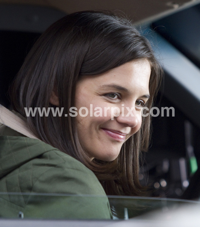 "**ALL ROUND PICTURES FROM SOLARPIX.COM**.**SYNDICATION RIGHTS FOR UK, AUSTRALIA, DENMARK, PORTUGAL, S. AFRICA, SPAIN & DUBAI (U.A.E) & ASIA (EXCLUDING JAPAN) ONLY**.Katie Holmes & daughter, Suri Cruise on set of ""Son of No One"" .Filming in Astoria in Queens on April 9, 2010.This pic:  Katie Holmes.JOB REF:   11059   PHZ/Mayer     DATE:  09.04.10.**MUST CREDIT SOLARPIX.COM OR DOUBLE FEE WILL BE CHARGED**.**MUST NOTIFY SOLARPIX OF ONLINE USAGE**.**CALL US ON: +34 952 811 768 or LOW RATE FROM UK 0844 617 7637**"