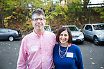 Winsted, CT-19, October 2017-101917CM06 Social moments from left are Mad River Lofts owners Marty and Joyce Goldin are photographed during a CultureMIX, event sponsored by The Northwest Connecticut Arts Council at the Mad River Lofts in Winsted on Thursday.   Christopher Massa Republican-American