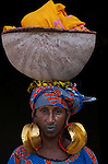Portrait of a Fula woman, Mali