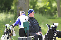 Andrew Taffe (President Seapoint) on the 6th tee during Round 1 of the Irish Amateur Close Championship at Seapoint Golf Club on Saturday 7th June 2014.<br /> Picture:  Thos Caffrey / www.golffile.ie