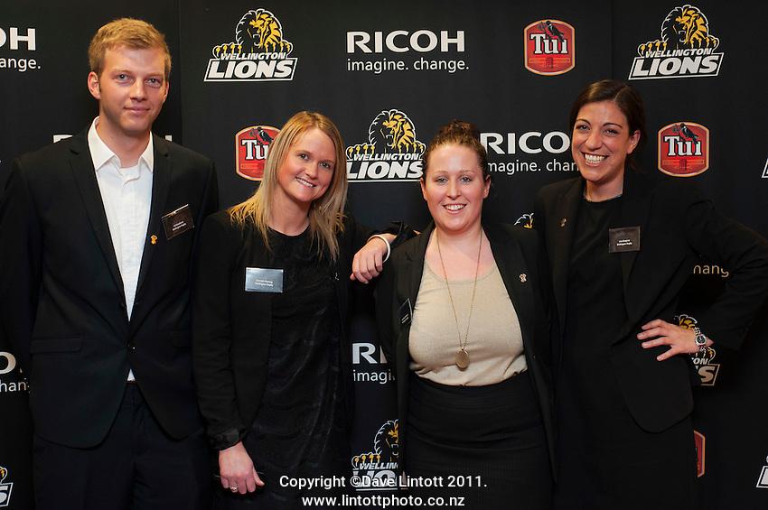 Wellington Lions season launch at Rydges Hotel, Wellington, New Zealand on Monday, 11 August 2014. Photo: Dave Lintott / lintottphoto.co.nz