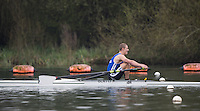 Caversham. Berkshire. UK<br /> Tristan VOUILLOZ.<br /> 2016 GBRowing U23 Trials at the GBRowing Training base near Reading, Berkshire.<br /> <br /> Monday  11/04/2016 <br /> <br /> [Mandatory Credit; Peter SPURRIER/Intersport-images]