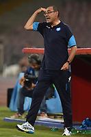 Maurizio Sarri Napoli <br /> Napoli 16-08-2017 Stadio San Paolo <br /> Napoli - Nice Uefa Champions League 2017/2018 Play Off Foto Andrea Staccioli Insidefoto