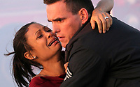 Crash (2004)<br /> Thandie Newton &amp; Matt Dillon<br /> *Filmstill - Editorial Use Only*<br /> CAP/MFS<br /> Image supplied by Capital Pictures