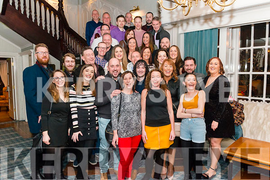 Paudie Conroy from Killarney celebrated his 40th birthday surrounded by friends and family in the Avenue Hotel, Killarney last Friday night.