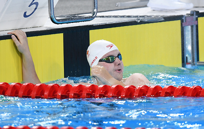 Tyson MacDonald in Para Swimming at the 2019 ParaPan American Games in Lima, Peru-25aug2019-Photo Scott Grant
