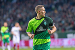 10.02.2019, Weser Stadion, Bremen, GER, 1.FBL, Werder Bremen vs FC Augsburg, <br /> <br /> DFL REGULATIONS PROHIBIT ANY USE OF PHOTOGRAPHS AS IMAGE SEQUENCES AND/OR QUASI-VIDEO.<br /> <br />  im Bild<br /> <br /> Ludwig Augustinsson (Werder Bremen #05)<br /> Einzelaktion, Halbkörper / Halbkoerper,<br /> <br /> Foto © nordphoto / Kokenge