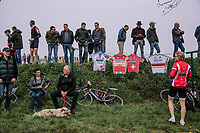 Fans on the side of the Paasestraat during the 16th Ronde Van Vlaanderen<br /> <br /> Elite Womans Race (1.WWT)<br /> <br /> One day race from Oudenaarde to Oudenaarde<br /> ©Jojo Harper for Kramon