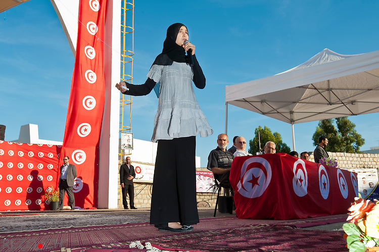 Ghanouchi Rached, President of the Tunisian Islamist party Ennahdha