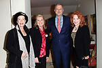 "LOS ANGELES - JAN 9: Alba Francesca, Meg Thomas, Keith McNutt, Sondra Curry at The Actors Fund's ""In The Spotlight"" Living Room Salon Series launch with special guest Sherry Lansing at a private estate on January 9, 2018 in Beverly Hills, CA"