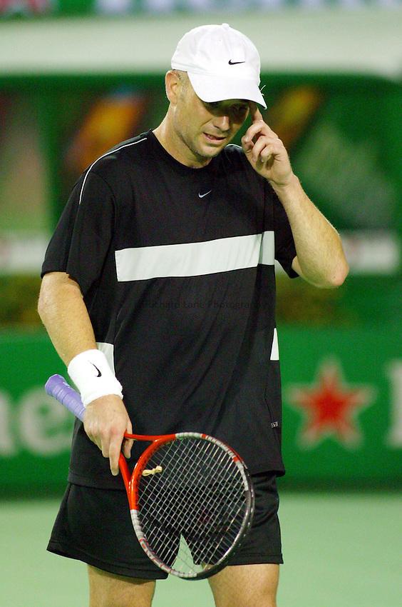 Andre Agassi, Australian Tennis Open 2004, Melbourne, Australia
