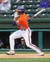 May 11, 2009: Outfielder Addison Johnson (18) of the Clemson Tigers in a game against the Furman Paladins at Fluor Field at the West End in Greenville, S.C. Photo by: Tom Priddy/Four Seam Images
