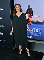 "LOS ANGELES, USA. June 06, 2019: Leila Conners at the premiere for ""Ice on Fire"" at the LA County Museum of Art.<br /> Picture: Paul Smith/Featureflash"