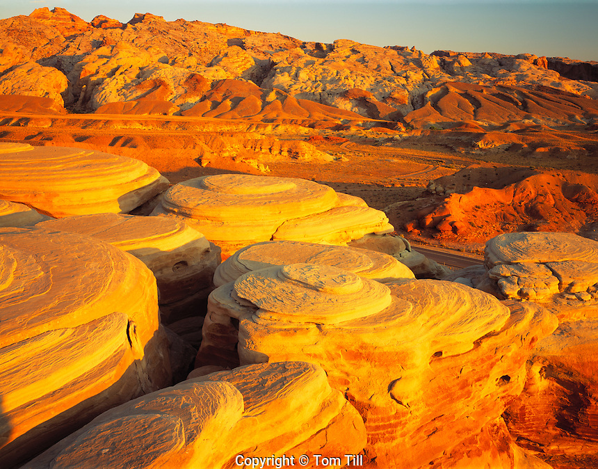 San Rafael Swell at Dawn, San Rafael Swell, Utah   Proposed San Rafael Wilderenss