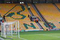 A general view of the ground during Norwich City vs Millwall, Sky Bet EFL Championship Football at Carrow Road on 1st January 2018
