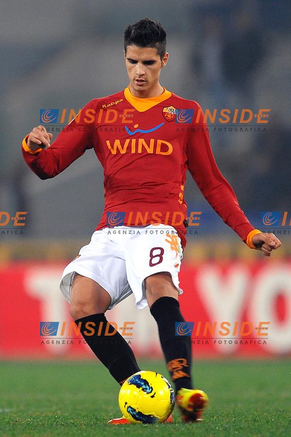 "Erik LAMELA Roma.Roma 12/12/2011 Stadio ""Olimpico"".Football Calcio 2011/2012 Serie A.Roma Vs Juventus 1-1.Foto Insidefoto Andrea Staccioli"