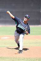 Steve Landazuri - Seattle Mariners - 2010 Instructional League.Photo by:  Bill Mitchell/Four Seam Images..