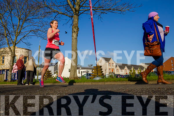 Anne Kelliher, pictured at the Kerry's Eye Valentines Weekend 10 mile road race on Sunday.