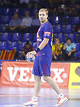 Aron Palmarsson, 4th October  2017, Palau Blaugrana, Barcelona, Spain; EHF Mens Champions League Group Phase, handball. FC Barcelona Lassa v CRO HC Prvo Plinarski Drustvo