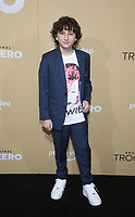 "LOS ANGELES, CA - JANUARY 13: August Maturo, at the Premiere Of Amazon Studios' ""Troop Zero"" at Pacific Theatres at The Grove in Los Angeles, California on January 13, 2020. <br /> CAP/MPIFS<br /> ©MPIFS/Capital Pictures"