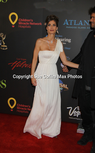 Kristian Alfonso  at the 38th Annual Daytime Entertainment Emmy Awards 2011 held on June 19, 2011 at the Las Vegas Hilton, Las Vegas, Nevada. (Photo by Sue Coflin/Max Photos)