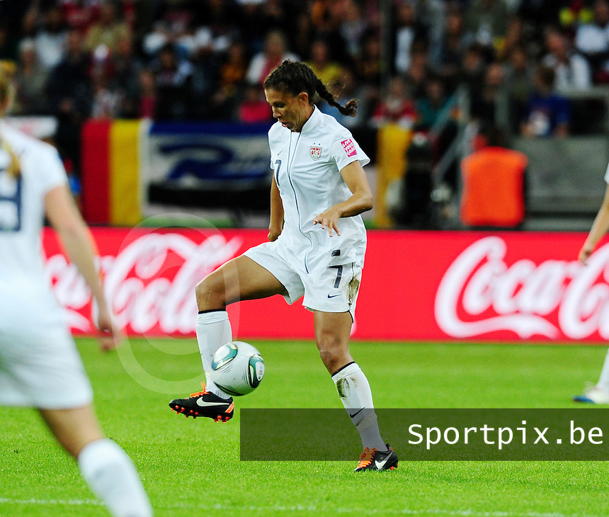 Fifa Women's World Cup Germany 2011 : Japan - USA  at Commerzbank Arena Frankfurt : Shannon Boxx.foto DAVID CATRY / Vrouwenteam.be