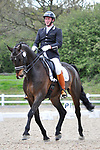 Class 9. Advanced Medium 85. British dressage (BD). Brook Farm Training Centre. Essex. 16/04/2017. MANDATORY Credit Ellen Szalai/Sportinpictures - NO UNAUTHORISED USE - 07837 394578