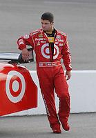 May 4, 2007; Richmond, VA, USA; Nascar Nextel Cup Series driver Reed Sorenson (41) during qualifying for the Jim Stewart 400 at Richmond International Raceway. Mandatory Credit: Mark J. Rebilas
