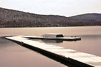 Rockland Lake Winter scene