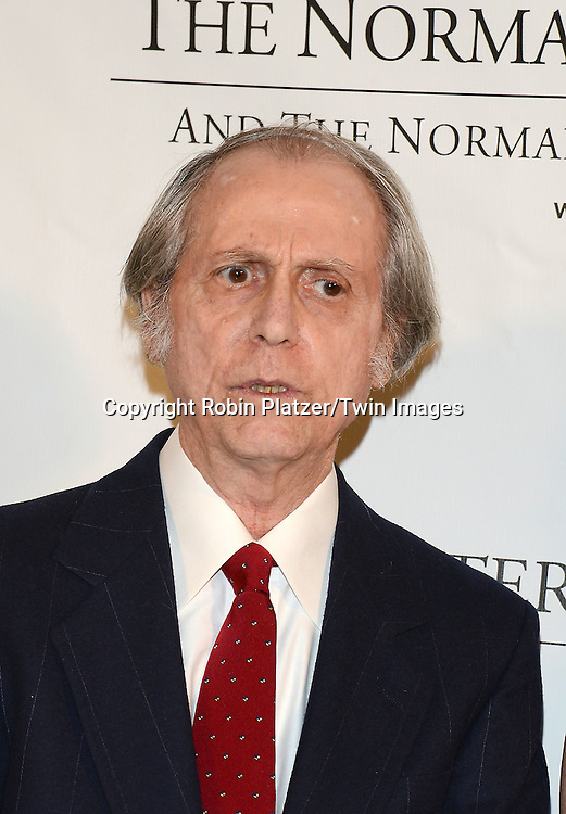 author and honoree Don DeLillo attends the Norman Mailer Center Sixth Annual Gala on October 27, 2014 at The New York Public Library in New York City.<br /> <br /> photo by Robin Platzer/Twin Images<br />  <br /> phone number 212-935-0770