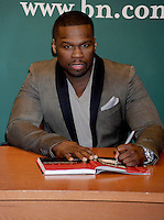 "50 Cent (Curtis Jackson) signs his new book, ""Formula 50"" - New York"