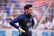 June 13th 2017, Stade de France, Paris, France; International football friendly, France versus England;  Goalkeeper Hugo Lloris (fra) looks unhappy to have been beaten by club mate Harry Kane