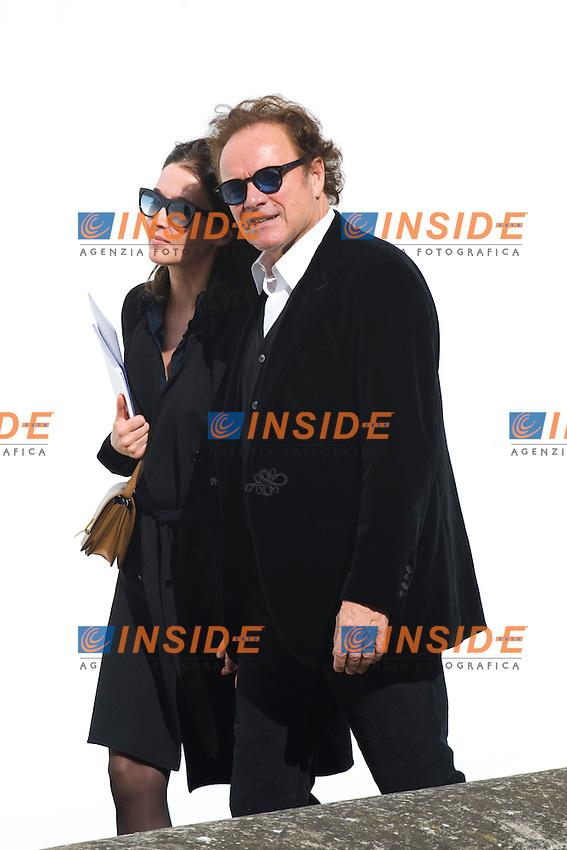 Guillaume Durant et sa femme .Parigi 28/9/2012 .Fashion Week. Dior. Arrivi.Foto JB Autissier / Panoramic / Insidefoto.ITALY ONLY