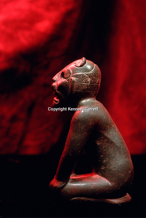 Olmec, jaguar God, Dumbarton Oaks Collection, Meso America