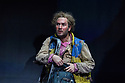 "Simon McBurney's production of Mozart's ""The Magic Flute"" returns to English National Opera. Set design by Michael Levine, costume design by Nicky Gillibrand, with revival lighting design by Mike Gunning, and video design by Finn Ross. Picture shows: Thomas Oliemans (Papageno)"