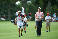 Justin Rose (GBR) approaches the green on 17 during round 2 of the 2019 Tour Championship, East Lake Golf Course, Atlanta, Georgia, USA. 8/23/2019.<br /> Picture Ken Murray / Golffile.ie<br /> <br /> All photo usage must carry mandatory copyright credit (© Golffile | Ken Murray)