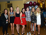 Aaron Reay celebrating his 21st birthday in the thatch with all the girls. Photo:Colin Bell/pressphotos.ie