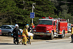 Waddell Beach, rescue after motorcycle accident