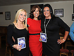 Rosemary Watson, Alison Comyn and Jane Farrell pictured at the launch of the Strictly Come Dancing DVD at the Rugby Club. Photo: Colin Bell/pressphotos.ie