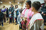 Fiesta de Nuestra Señora de Guadalupe celebrated by the Hispanic community of Amador County, Calif., at St. Katharine Drexel Parish Church each December 12th.<br /> <br /> The annual event commemorates the Patroness of the Americas who appeared to Juan Diego near Mexico City in 1531.