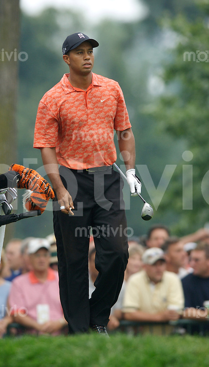 Tiger WOODS (USA) 2.Runde, 88th PGA Championship Golf, Medinah Country Club, IL, USA