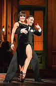 """""""Midnight Tango"""" with """"Strictly Come Dancing"""" Stars Flavia Cacace and Vincent Simone opens at the Aldwych Theatre, London. Photo credit: Bettina Strenske"""