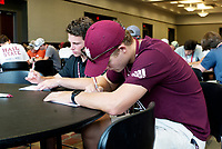 Incoming freshman at the Maroon and Write session<br />  (photo by Colleen McInnis / &copy; Mississippi State University)