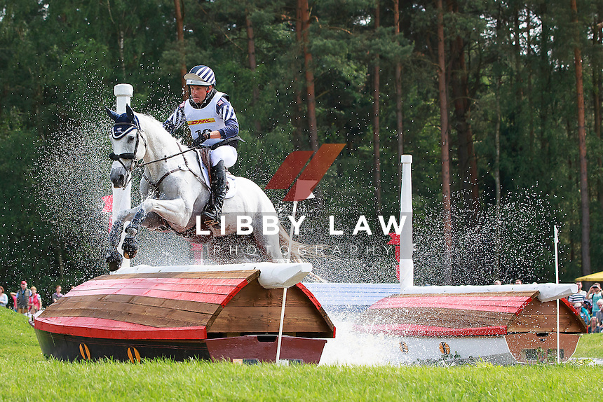 USA-Boyd Martin (CRACKER JACK) INTERIM-13TH: CCI4* - Presented by DHL Cross Country: 2016 GER-Luhmuehlen TGL (Saturday 18 June) CREDIT: Libby Law COPYRIGHT: LIBBY LAW PHOTOGRAPHY
