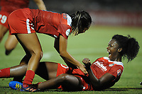 Boyds, MD -Saturday August 26, 2017: Cheyna Williams during a regular season National Women's Soccer League (NWSL) match between the Washington Spirit and the Chicago Red Stars at Maureen Hendricks Field, Maryland SoccerPlex.