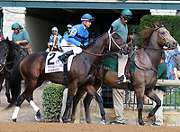 October 06, 2018 : #2 Torrent and Corey Lanerie in the 38th running of the Thoroughbred Club of America (Grade 2) $250,000 at Keeneland Race Course on October 06, 2018 in Lexington, KY.  Candice Chavez/ESW/CSM