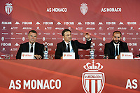 21st July 2020, Monaco, France; AS Monaco announce the employment of Niko Kovac as their new player coach at their press conference with Oleg Petrov president AS Monaco and Paul Mitchell director sporting