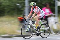 Teilnehmer des 20 km Radfahrens auf der Strecke - Mörfelden-Walldorf 16.07.2017: 9. MöWathlon