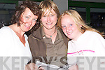 SMILES: Maria Murphy, Mary Mulhane and Eimear Feane (Tralee) who had a good night at the dogs at Kingdom Greyhound Stadium, Tralee, on Friday..